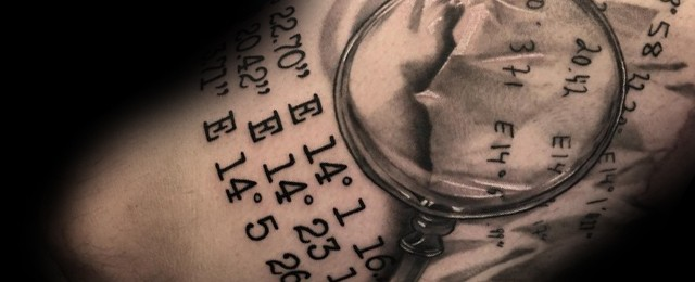 Magnifying Glass Tattoo Ideas For Men