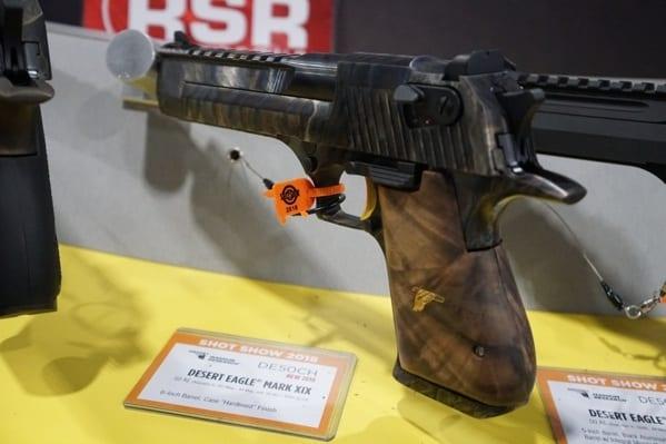 Magnum Research Desert Eagle Mark Xix Case Hardened Finish