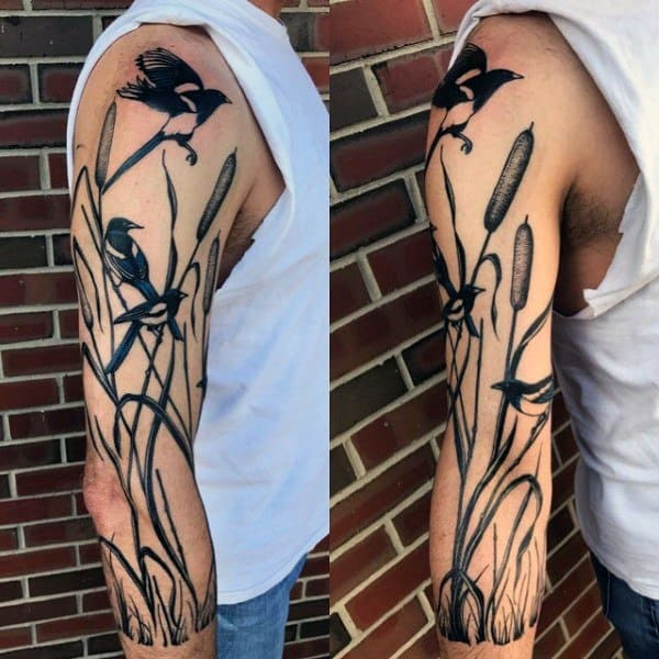 Magpie Male Tattoos