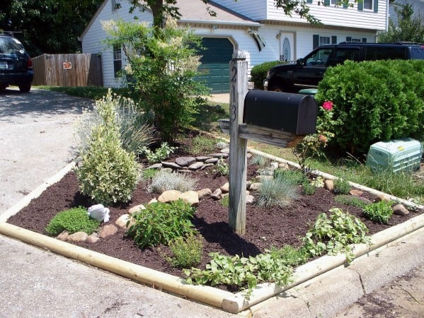 Mailbox Landscaping Design Inspiration