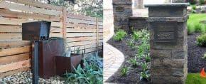 Top 30 Best Mailbox Landscaping Ideas – Plant Designs
