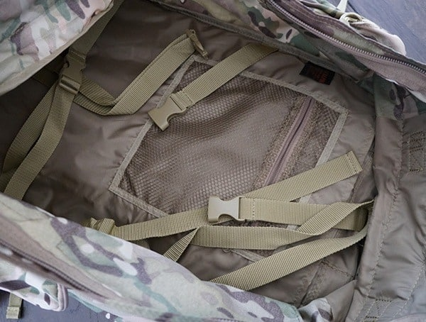 Main Backpack Interior Storage Mercury Tactical Recon