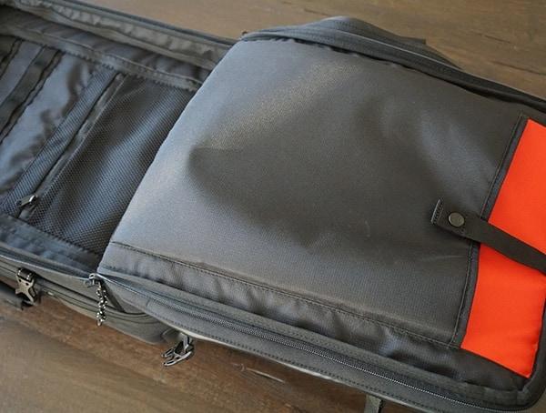 Main Bag Interior Black Ogio Alpha Convoy 522s Travel Bag