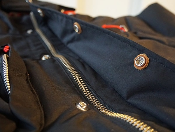 Main Center Zipper With Leather Button Details Topo Designs Mountain Jacket For Guys