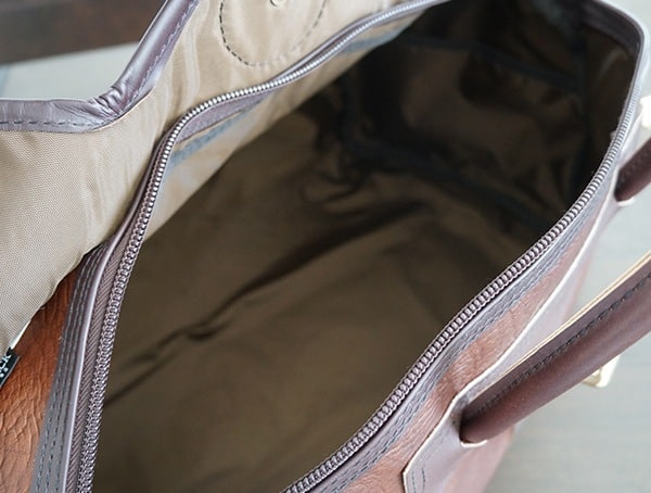 Main Compartment Duluth Pack Bison Leather Sportsman Duffel For Men