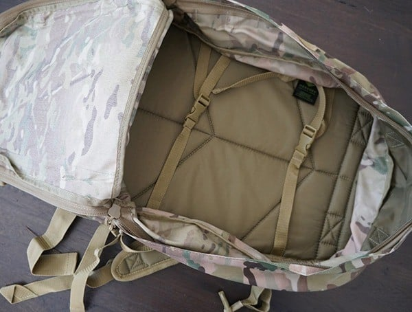 Main Compartment With Compression Straps Mercury Tactical 3 Day Strech Tactical Pack