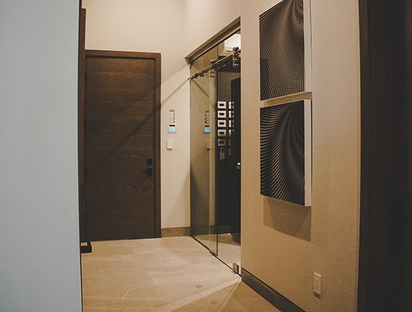 Main Hallway New American Home 2019