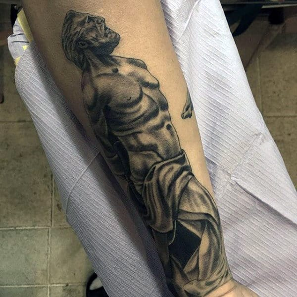 Male Ancient Greek Tattoo