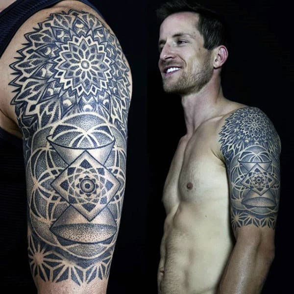 Male Arm Symmetrical Tattoo