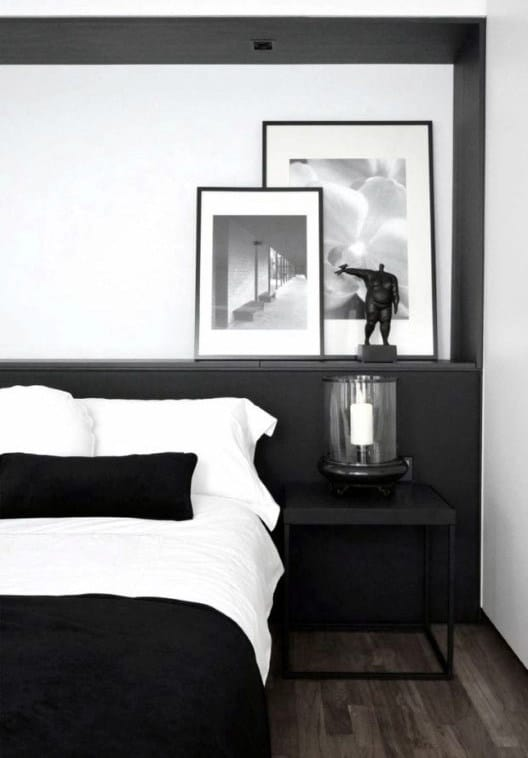Bedroom Design Black Bed