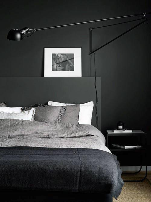dark modern bedroom ideas