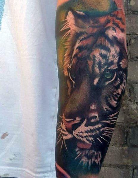 Male Best Tiger Tattoos