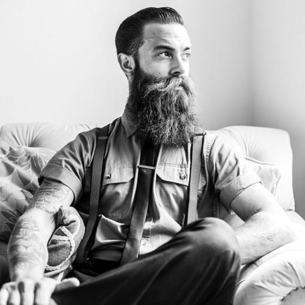 Male Big Beard Idea Inspiration