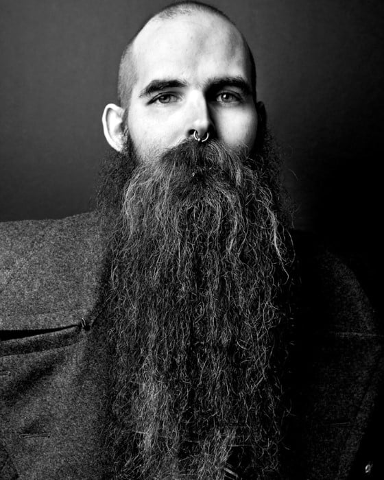 Male Big Beard Style