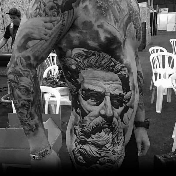 Male Big Themed Tattoo Inspiration