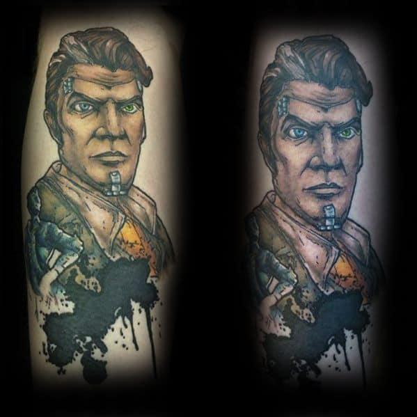 Male Borderlands Tattoo Design Inspiration