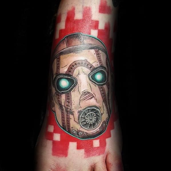 Male Borderlands Tattoo Ideas