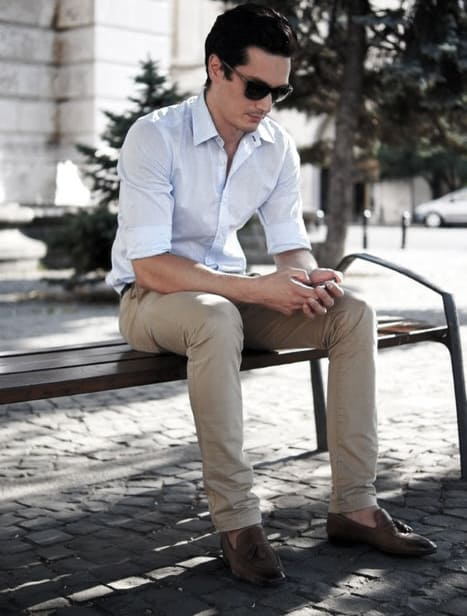 Male Business Casual Outfits Style