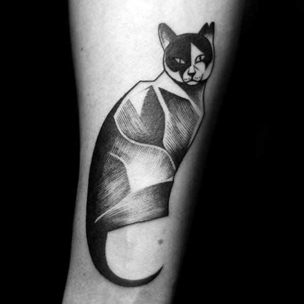 Male Cat Tattoos