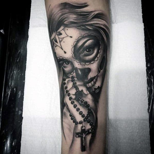 Male Catrina Tattoo Design Inspiration