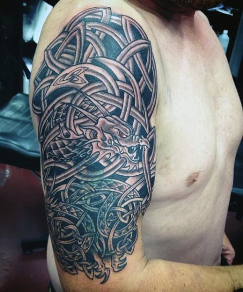 23 Scottish Tattoo Designs Ideas: Cool Knots And Complex Curves