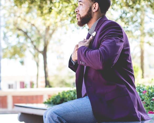 Male Classy Beard Style