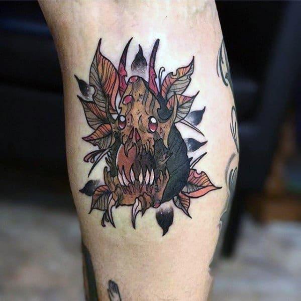 Male Cool Avocado Tattoo Ideas