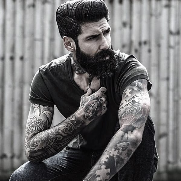 Male Cool Beard Style Ideas