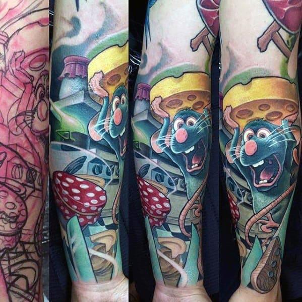 Male Cool Cartoon Tattoo Ideas