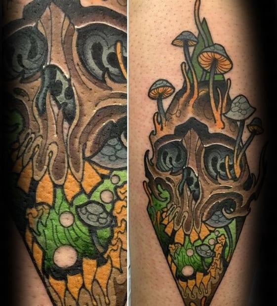 Male Cool Trippy Tattoo Ideas