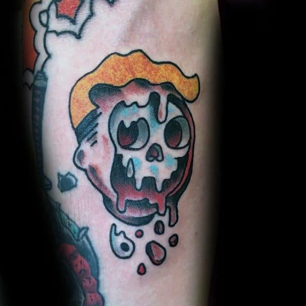 60 Vault Boy Tattoo Designs For Men Fallout Ink Ideas