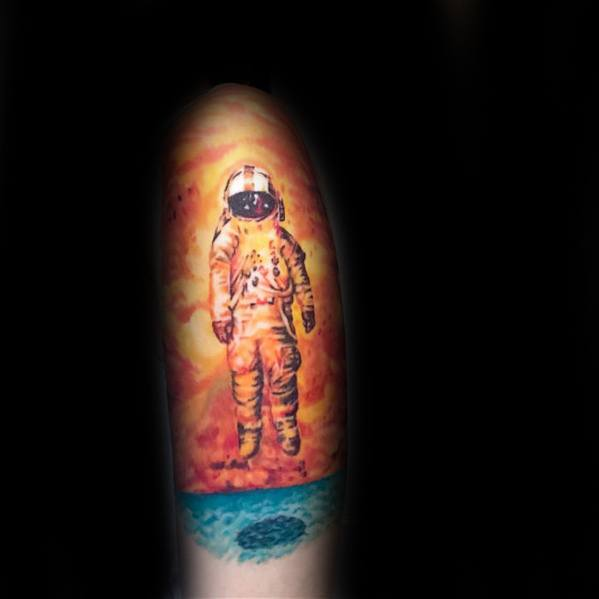 Male Deja Entendu Tattoo Ideas