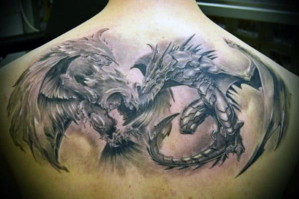 Male Dragon Tattoo Inspiration