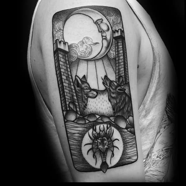 Male Esoteric Tattoo Design Inspiration