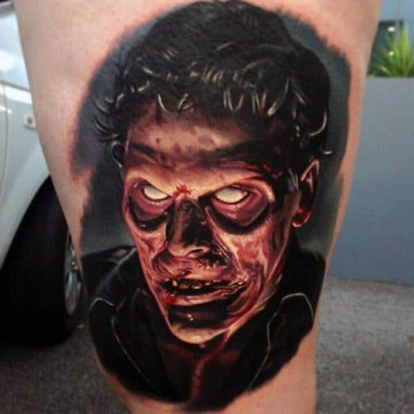 Male Evil Dead Tattoo