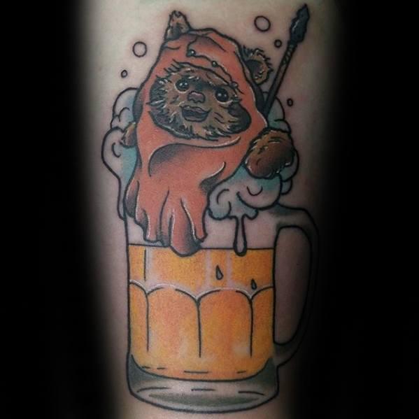 Male Ewok Tattoo Ideas
