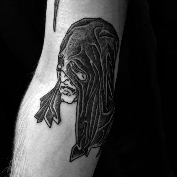 Male Executioner Themed Tattoos