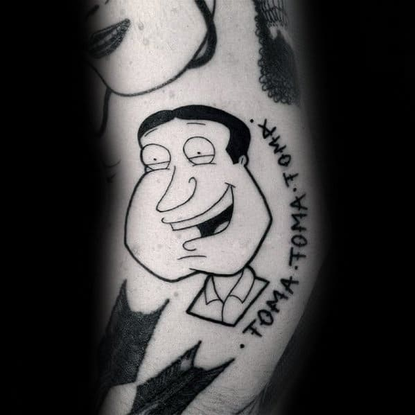 Male Family Guy Tattoos