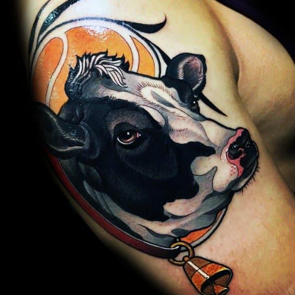 Male Farming Themed Tattoos