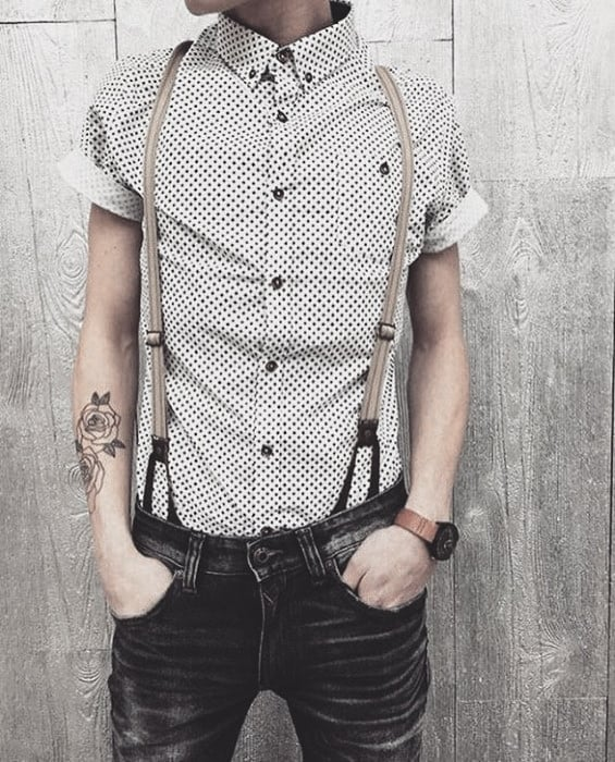 Male Fashion How To Wear Suspenders With Jeans Outfits Style Ideas