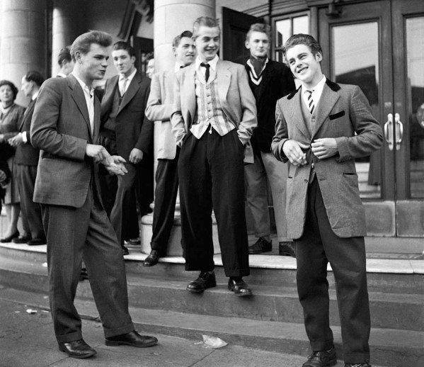 Male Fashion Inspiration 1950s