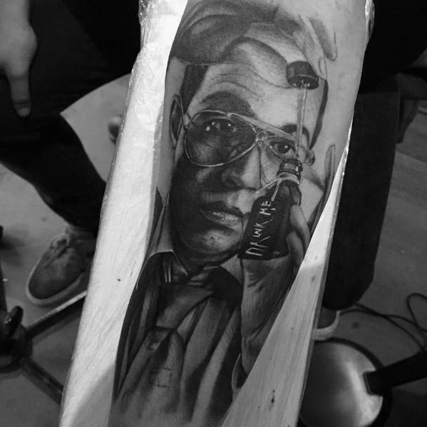 Male Fear And Loathing Ideas Hunter S Thompson Tattoos