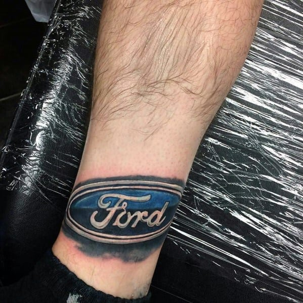 Male Ford Themed Tattoos
