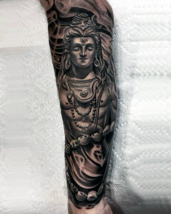 60 Shiva Tattoo Designs For Men