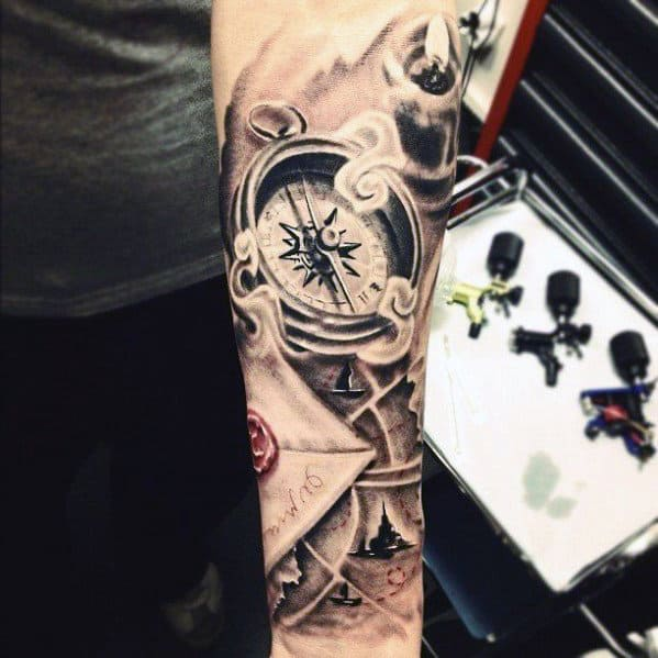 Male Forearm Tattoos