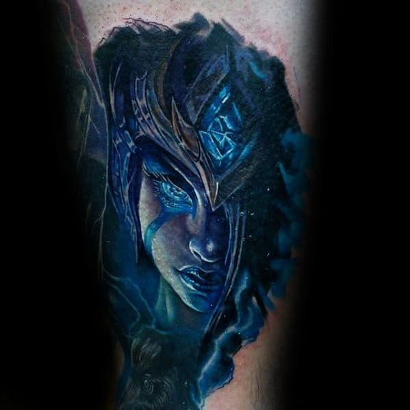 Male Gamer Arm Tattoo