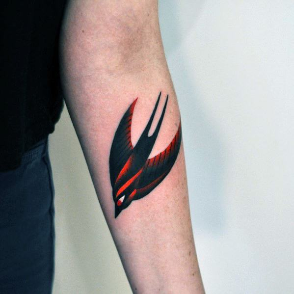 Male Gradient Tattoo Design Inspiration