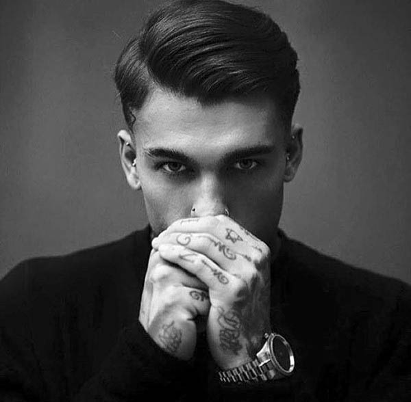 Enjoyable Greaser Hair For Men 40 Rebellious Rockabilly Hairstyles Hairstyles For Men Maxibearus