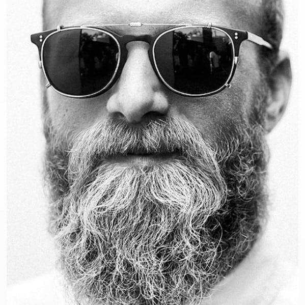Male Grey Beard Style Ideas