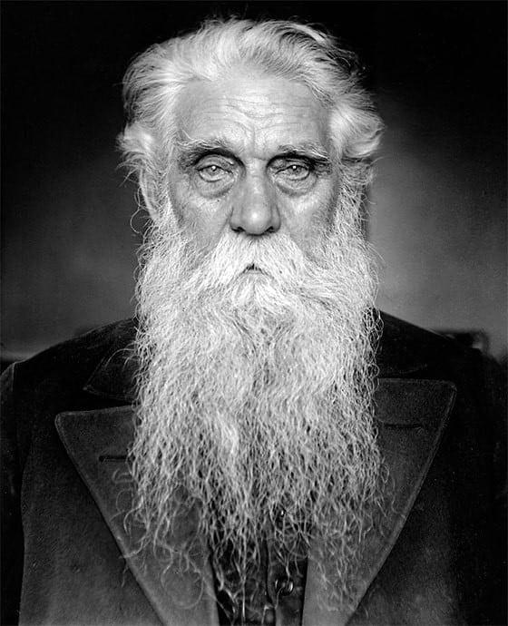 Male Grey Beard Style